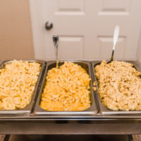 macaroni and cheese bar