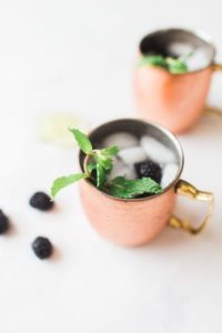 Two Chicks and A Pot – Orlando Wedding Caterer – Central Florida Wedding Caterer – Signature Cocktails- blackberry Moscow Mule