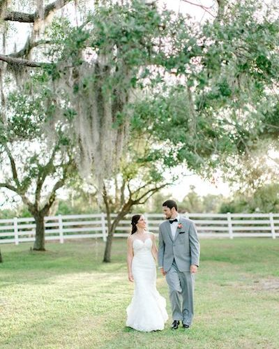 Two Chicks and A Pot Catering – Up The Creek Farm – Central Florida Wedding Caterer – Central Florida Wedding Venue – Central Florida Farm to Table Catering - wedding photos - bride and groom